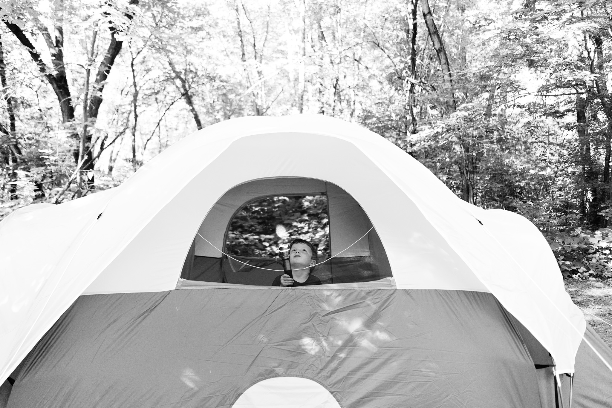 Seattle Area Camping Portrait Photography