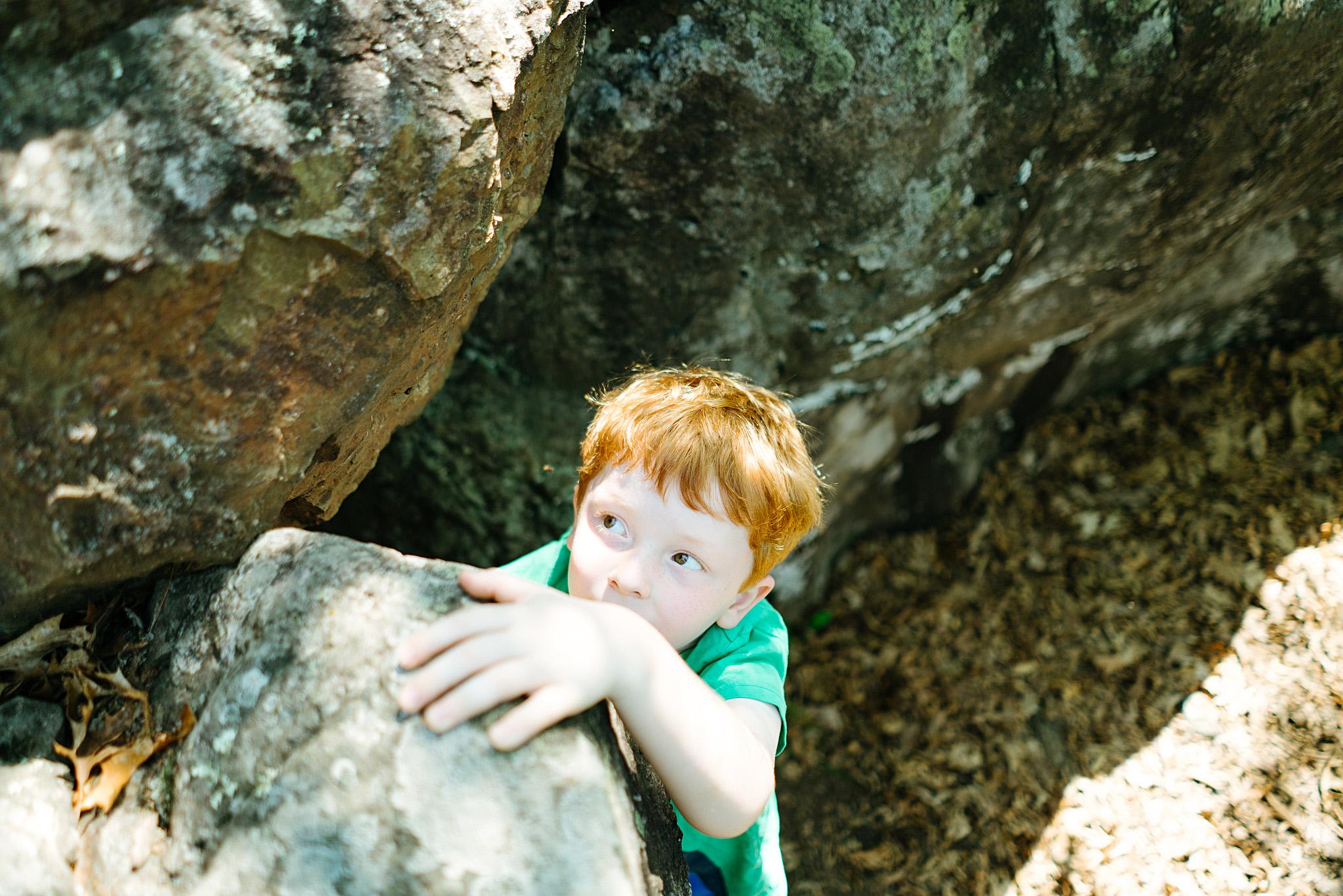 Seattle Children's Rock Climbing Photographer