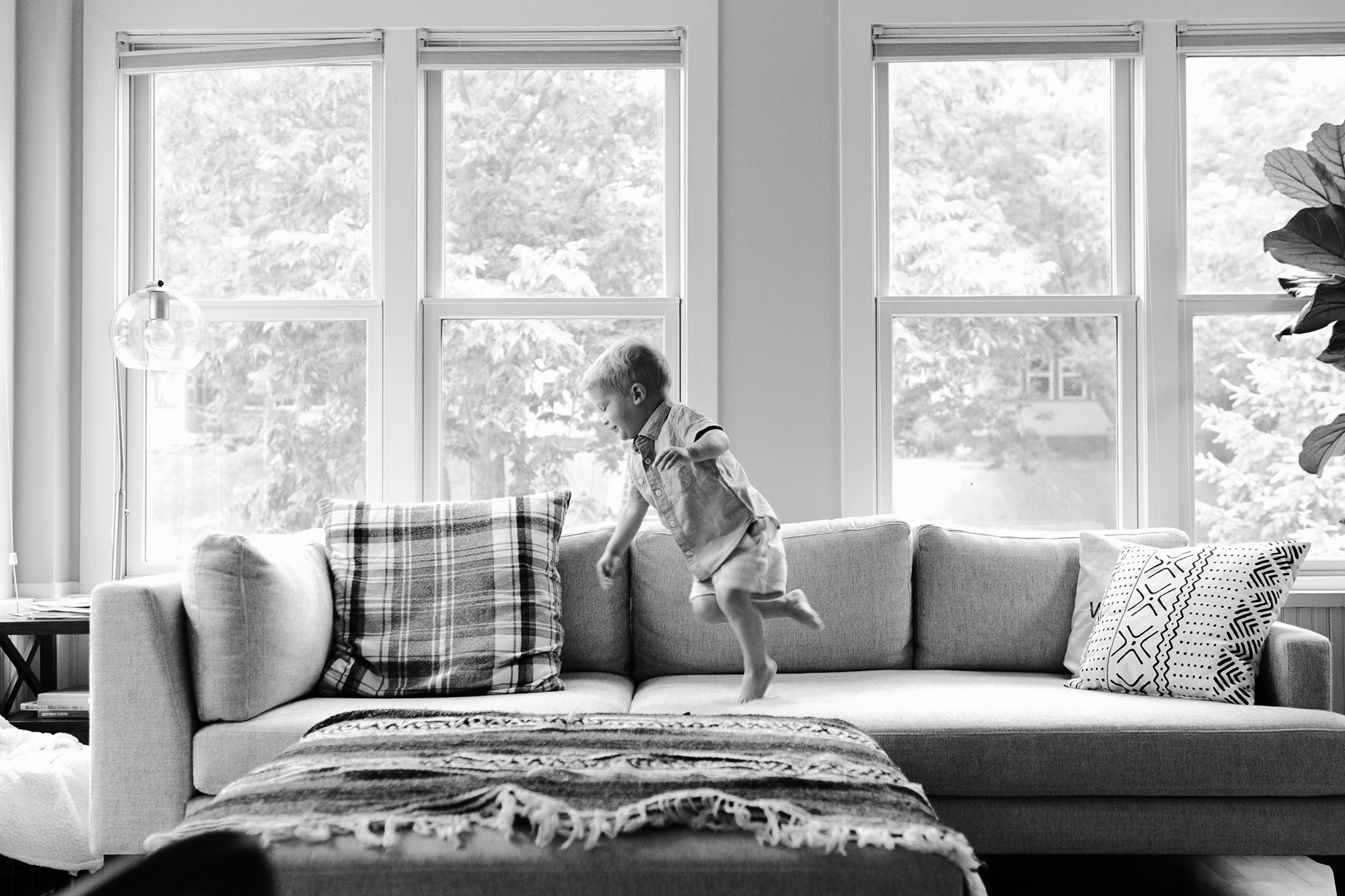 Seattle Family Photography At Home