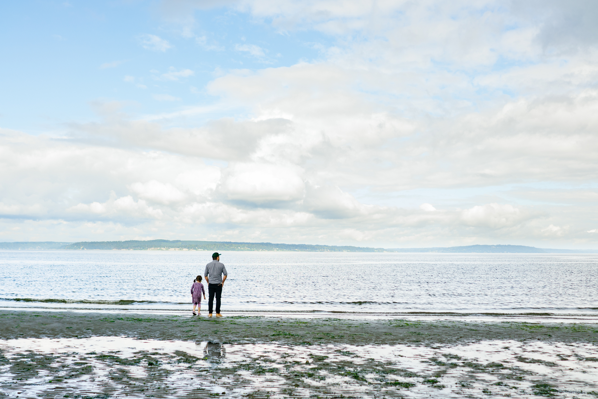 Carkeek Park Family Adventure Portrait Photographer in Seattle, Washington