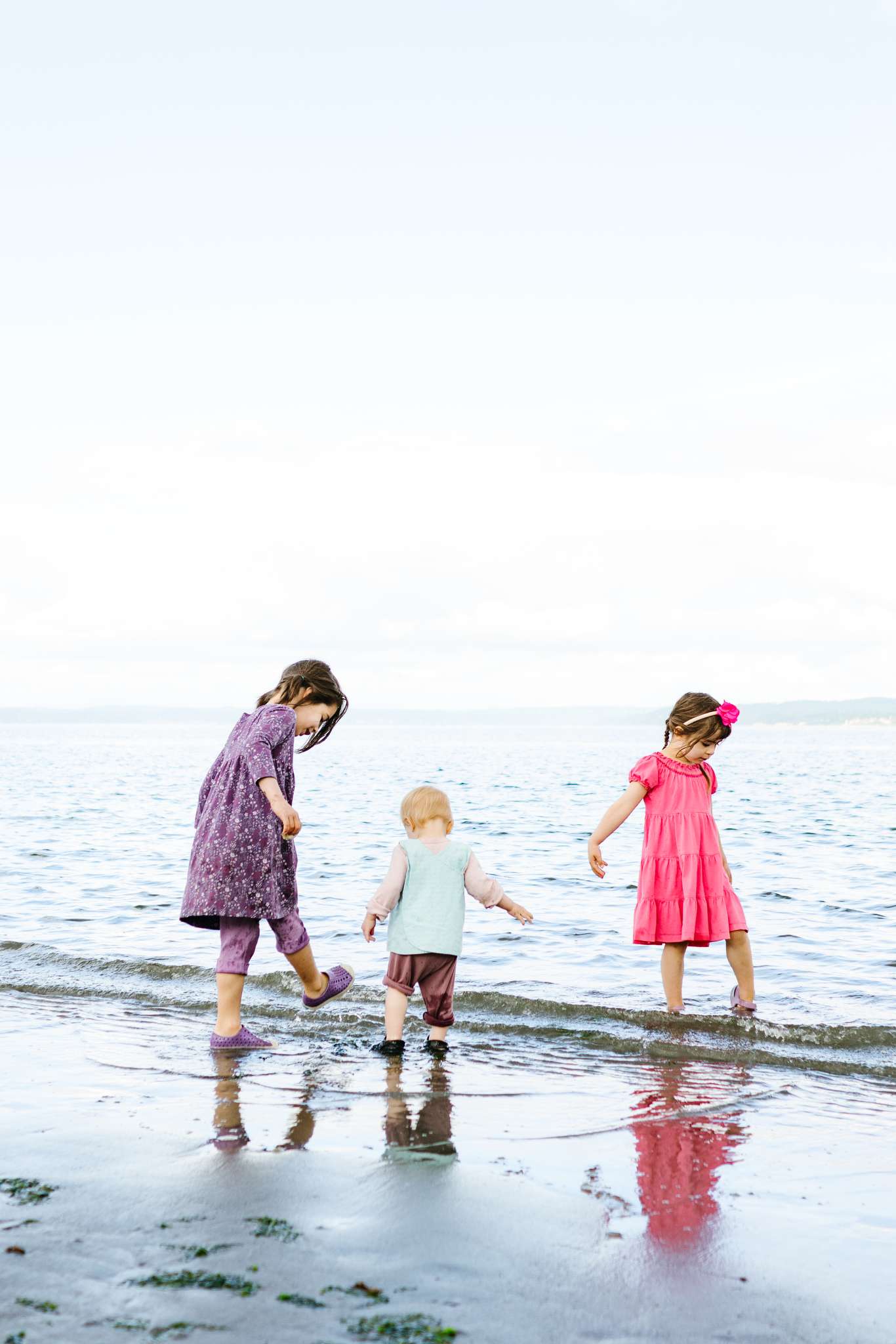 Family Photos at Golden Gardens Park in Seattle, Washington