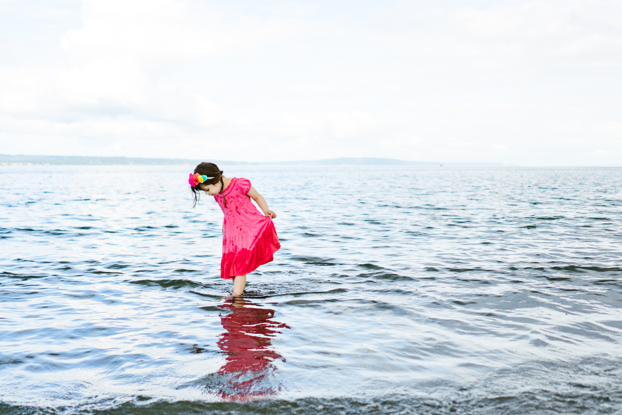 Family Photos at Carkeek Park in Seattle, Washington