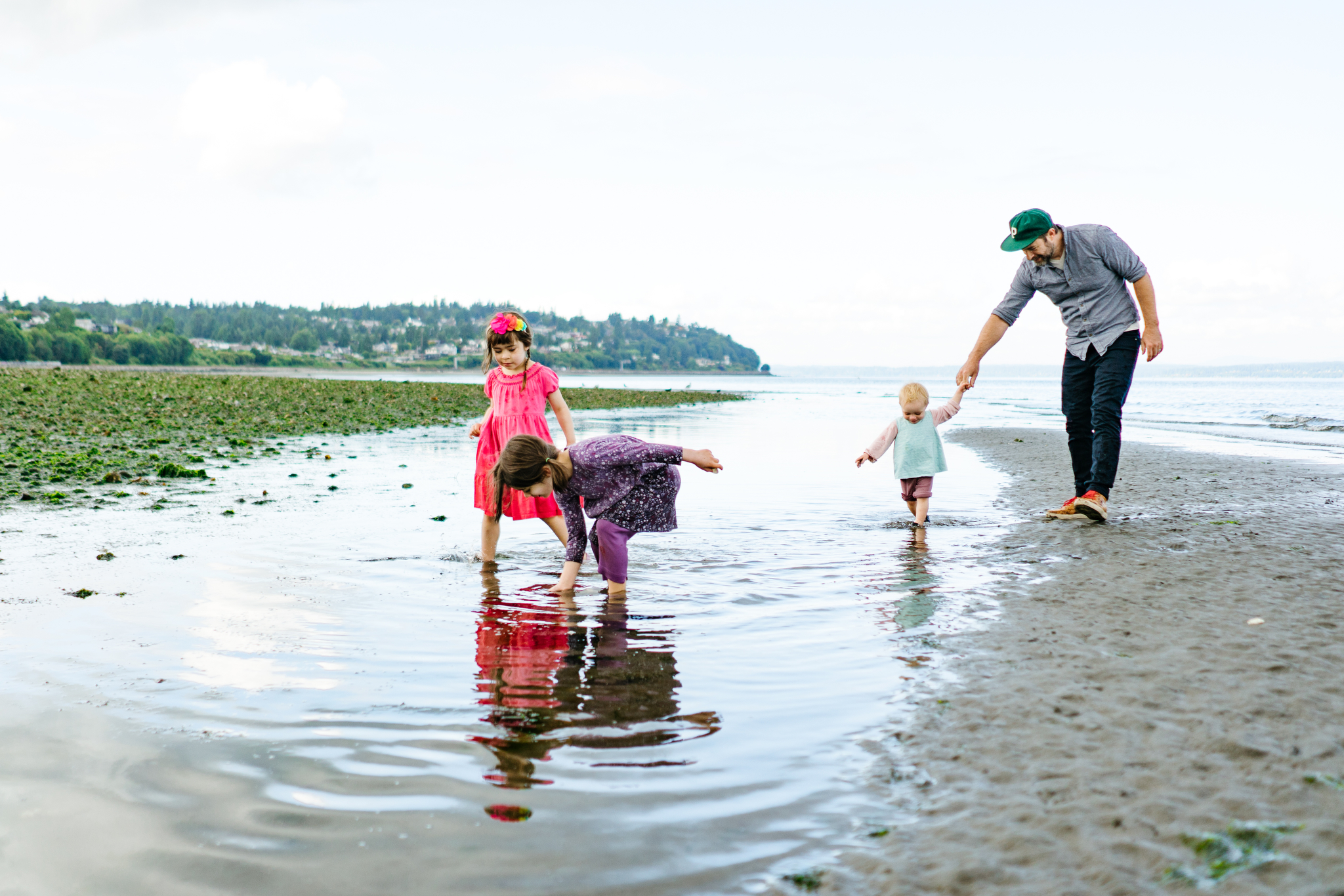 Family Photos at Point Defiance in Tacoma, Washington