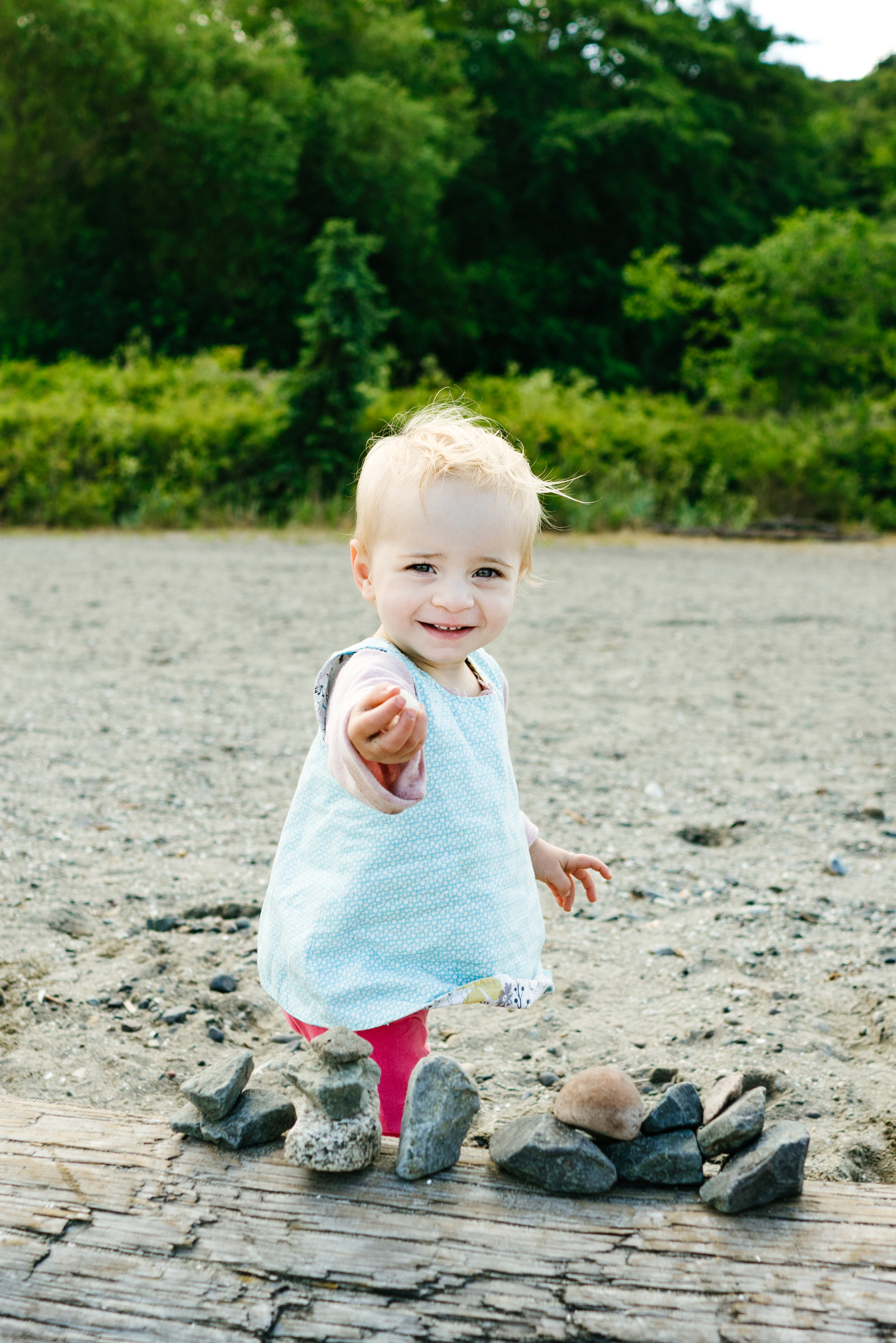 Seattle Family Photos at Carkeek Park