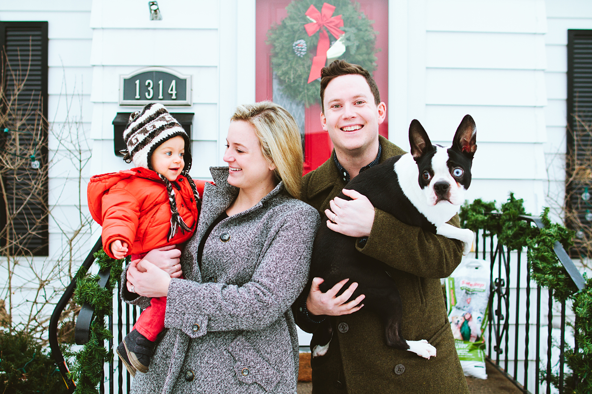 Seattle Holiday Card Mini Session Portrait Sessions