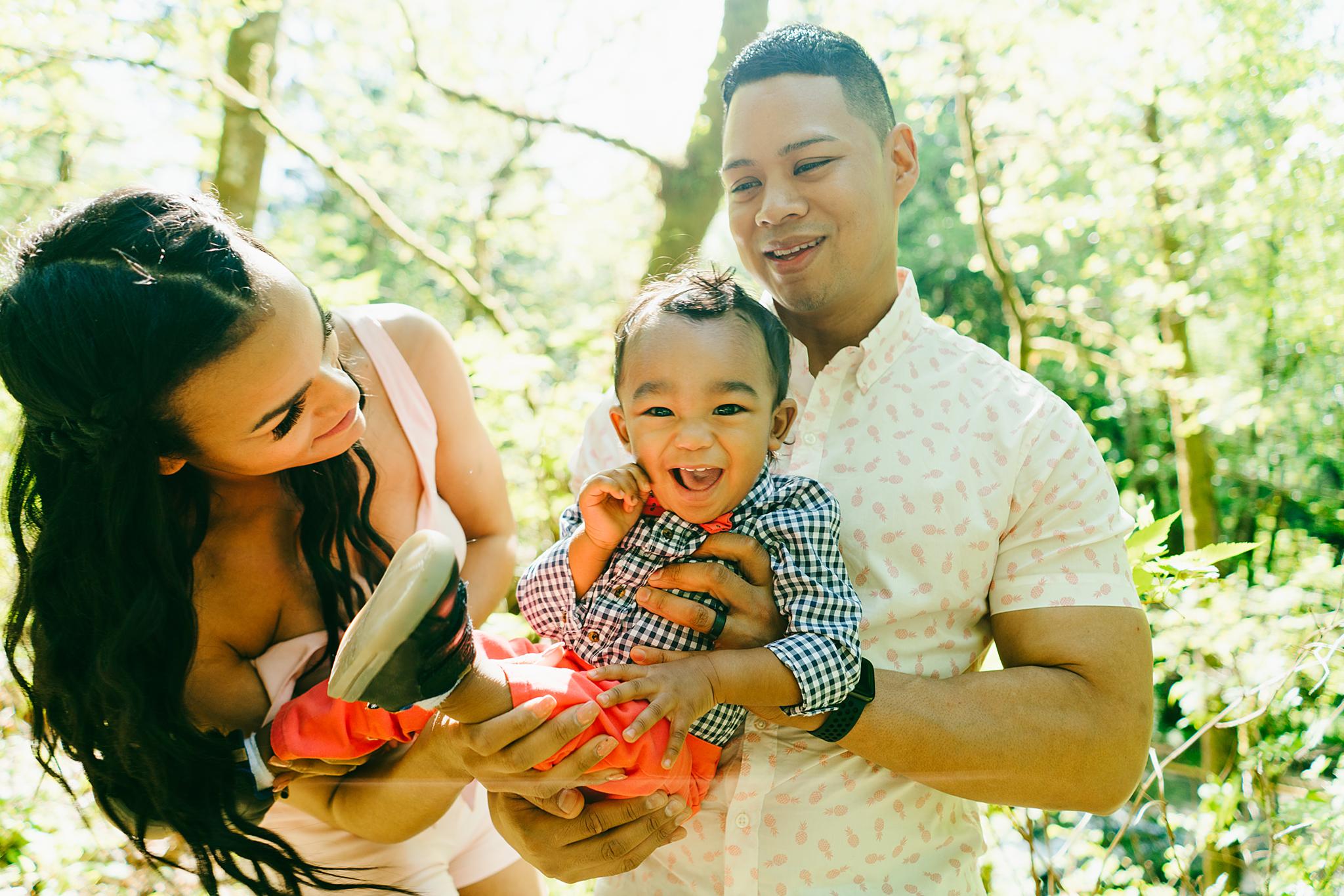 Tacoma Modern Family Photography