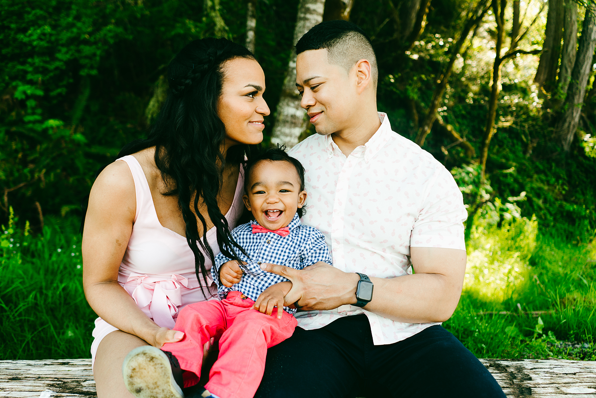 Tacoma Family Photography at Tolmie State Park