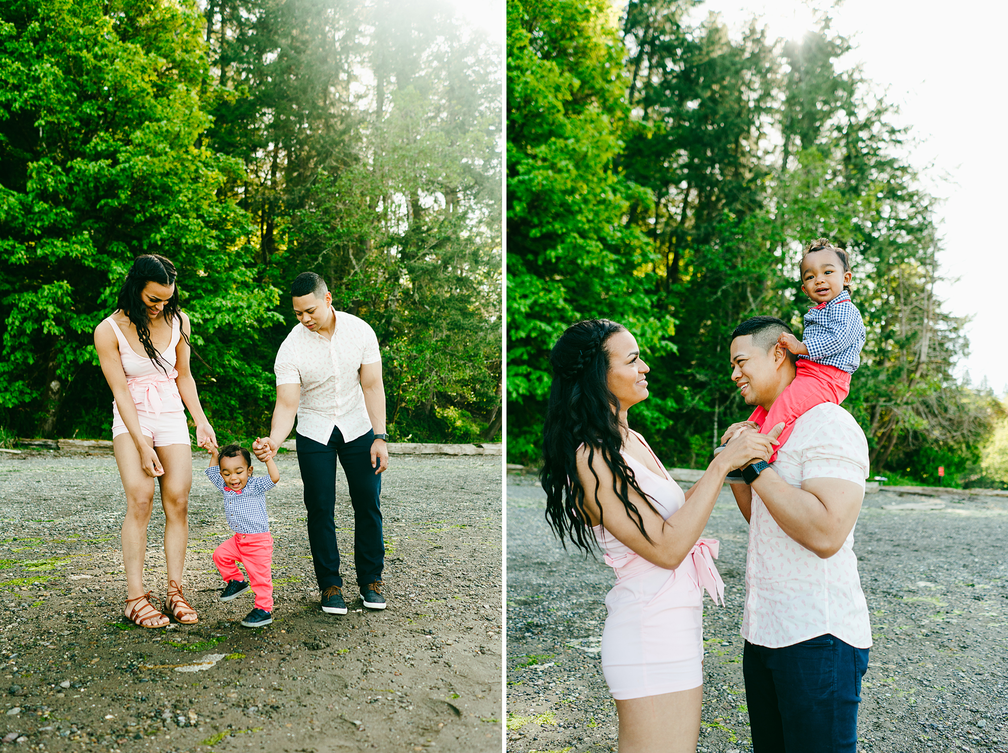 Family Portraits at Tolmie State Park