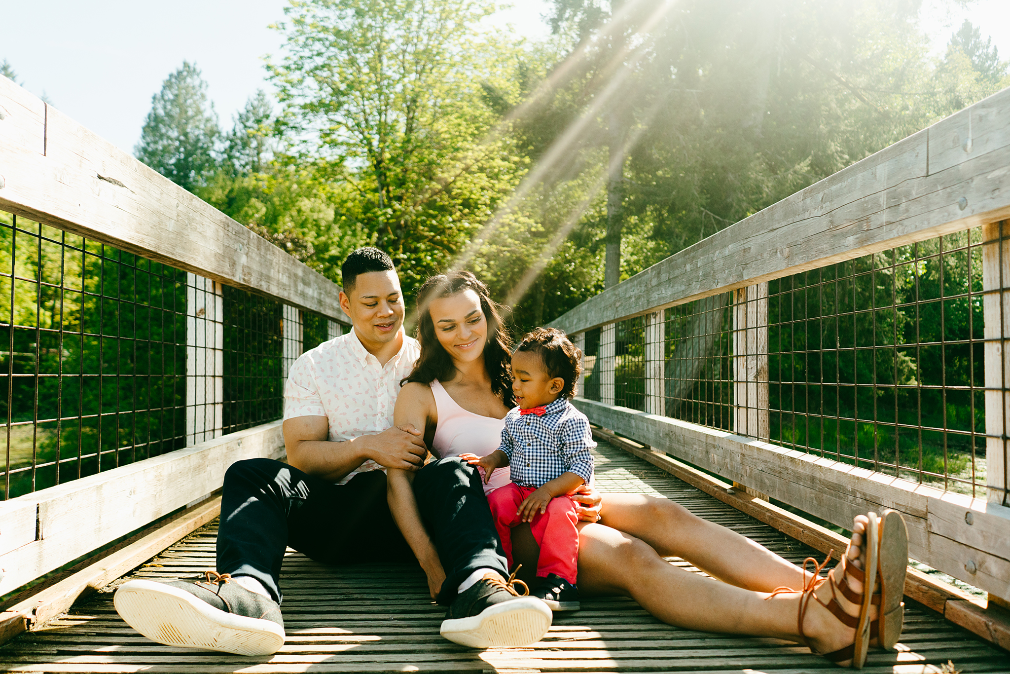 Family Photography at Tolmie State Park in Olympia