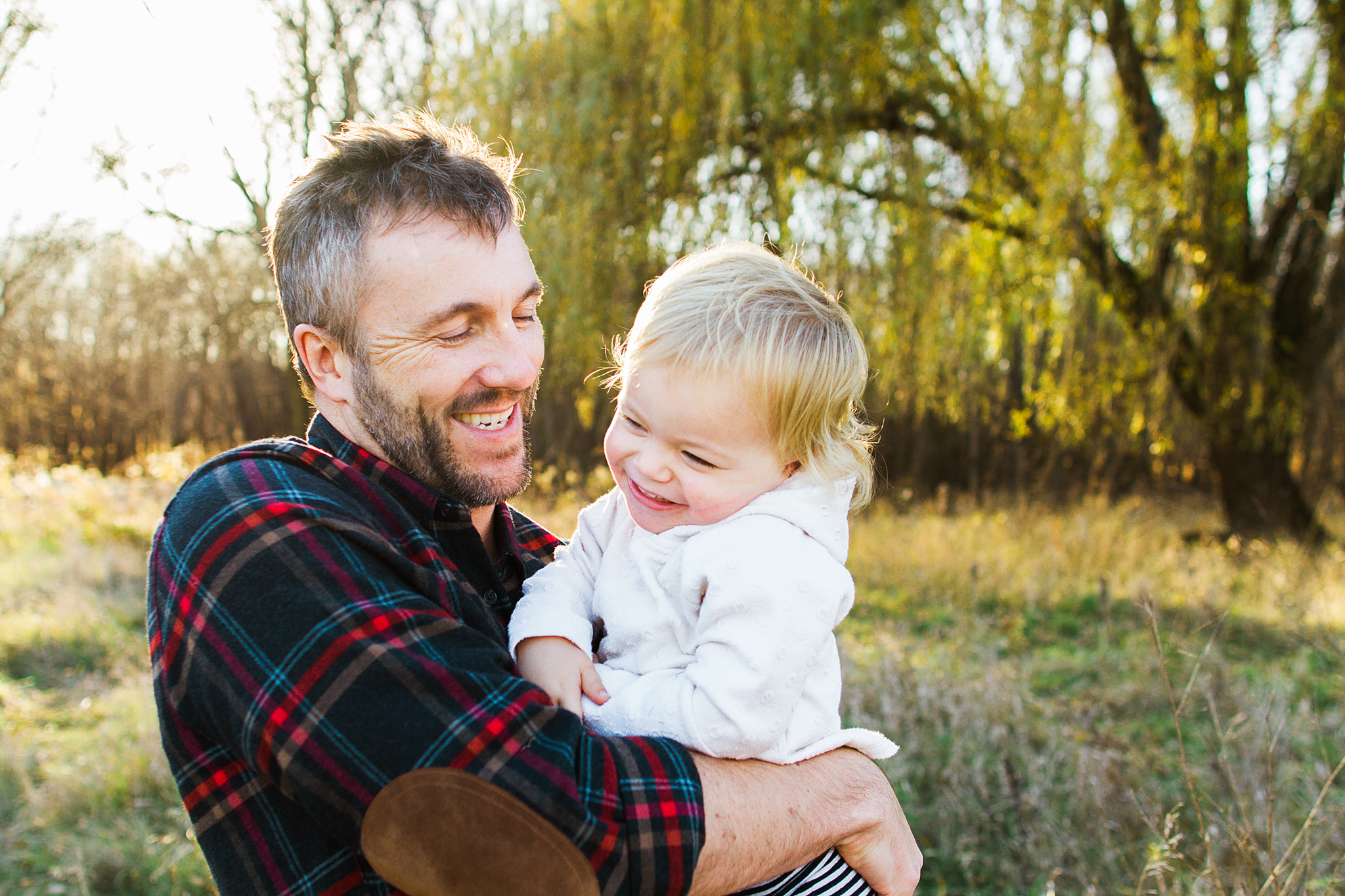 Family Photos at Carkeek Park in Seattle