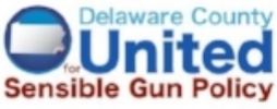 DelCo United for Sensible Gun Policy - Delaware County United for Sensible Gun Policy is a group of concerned residents in Delaware County, Pennsylvania, intent on achieving safe communities by preventing gun violence. It's mission is to persuade public and private decision makers at the local, state and national level to enact and enforce sensible gun policies. Having a core resource for communication and action will enable residents of Delaware County to harness the power of unified voices demanding change.
