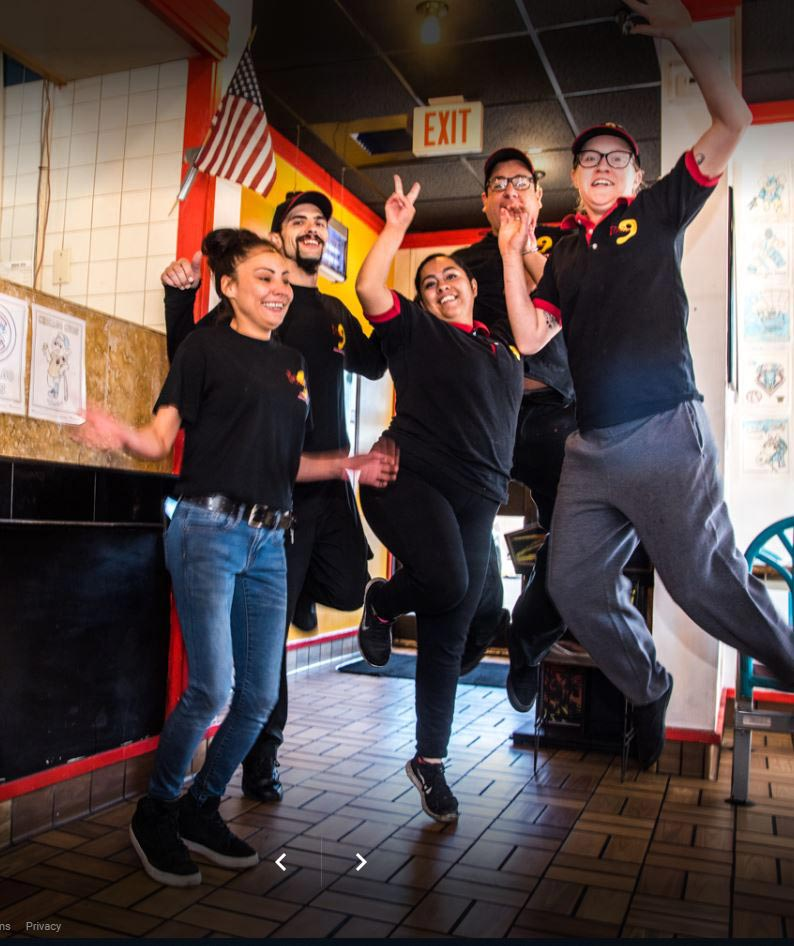 Whether it's a pizza delivery, dine in or carryout, our friendly staff is here to help!