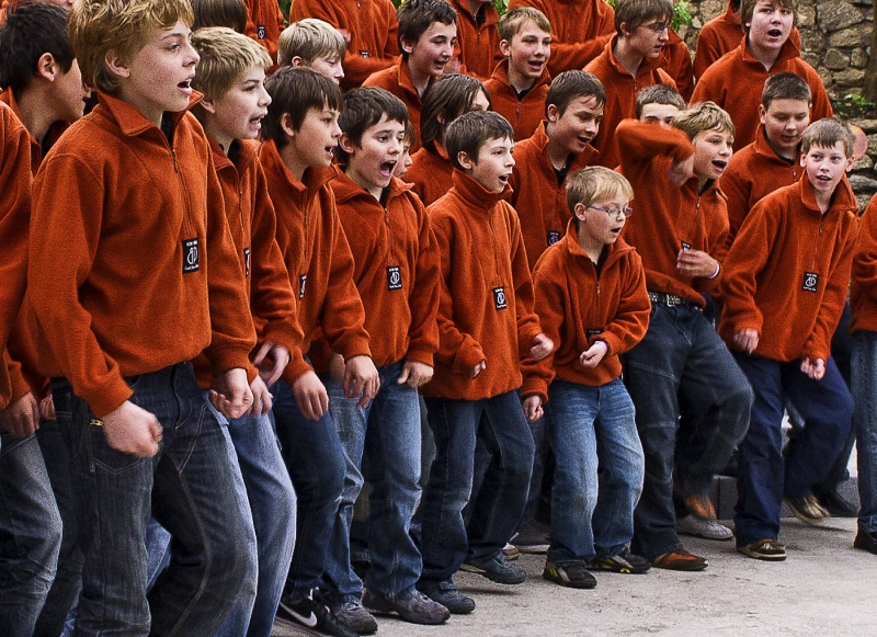 60 male choirs of all ages from across the globe