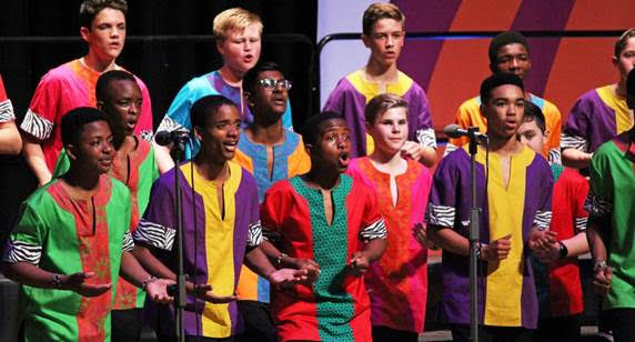 The Duke of Cornwall Singers from St Stithians College, South Africa