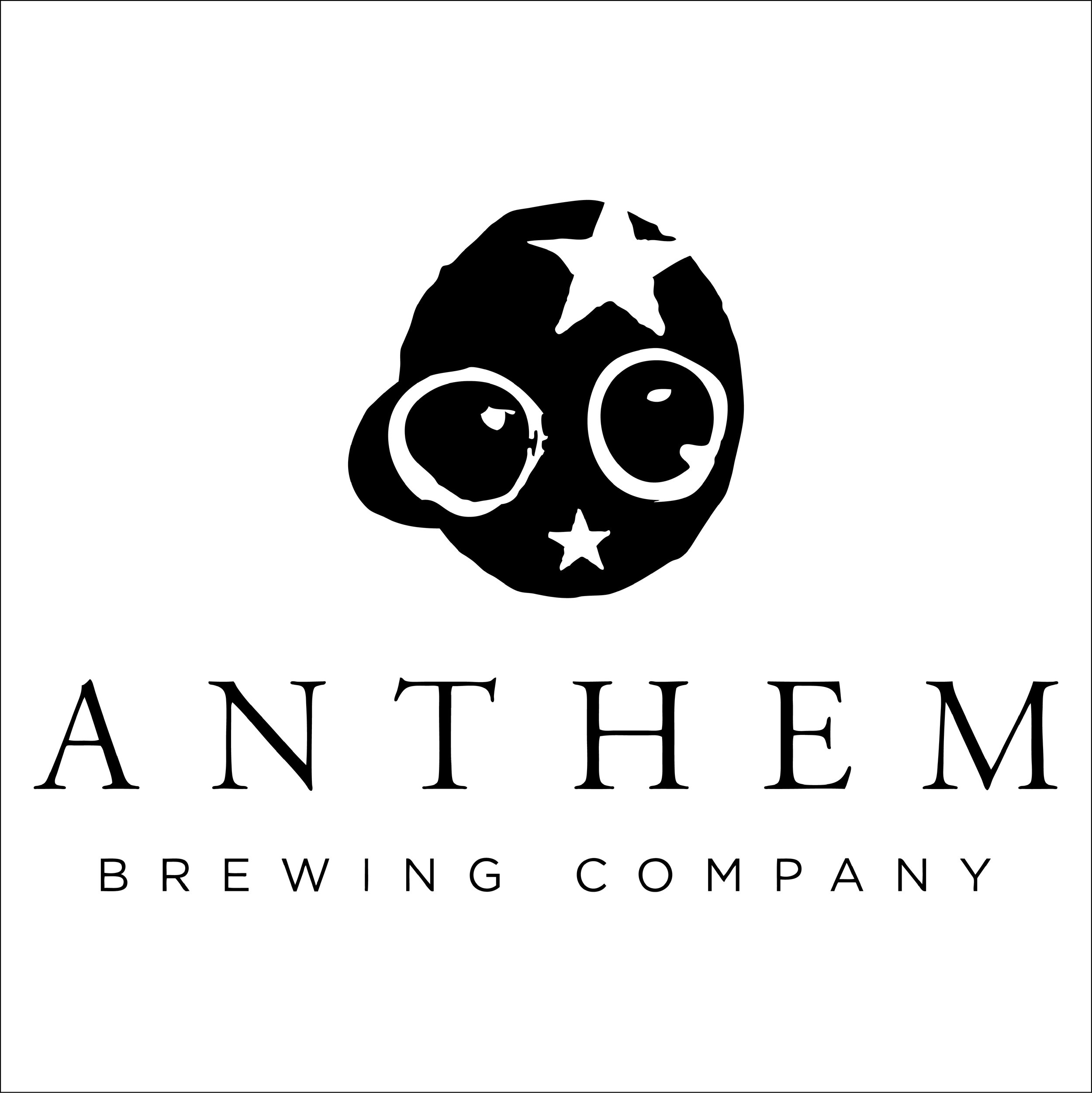 Anthem Brewing - 908 SW 4th StOKC, OK 73109Taproom Hours:Sun 12-6 pmMon 12-9 pmTues 12-9 pmWed 12-9 pmThur 12-9 pmFri 12-10 pmSat 12-10 pm