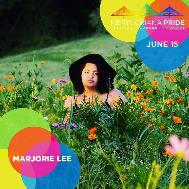 I'll be solo at @kentuckianapride this Saturday, 1pm ♥️ looking forward to all the amazing music and performers, and grateful for the chance to share my music 🌈