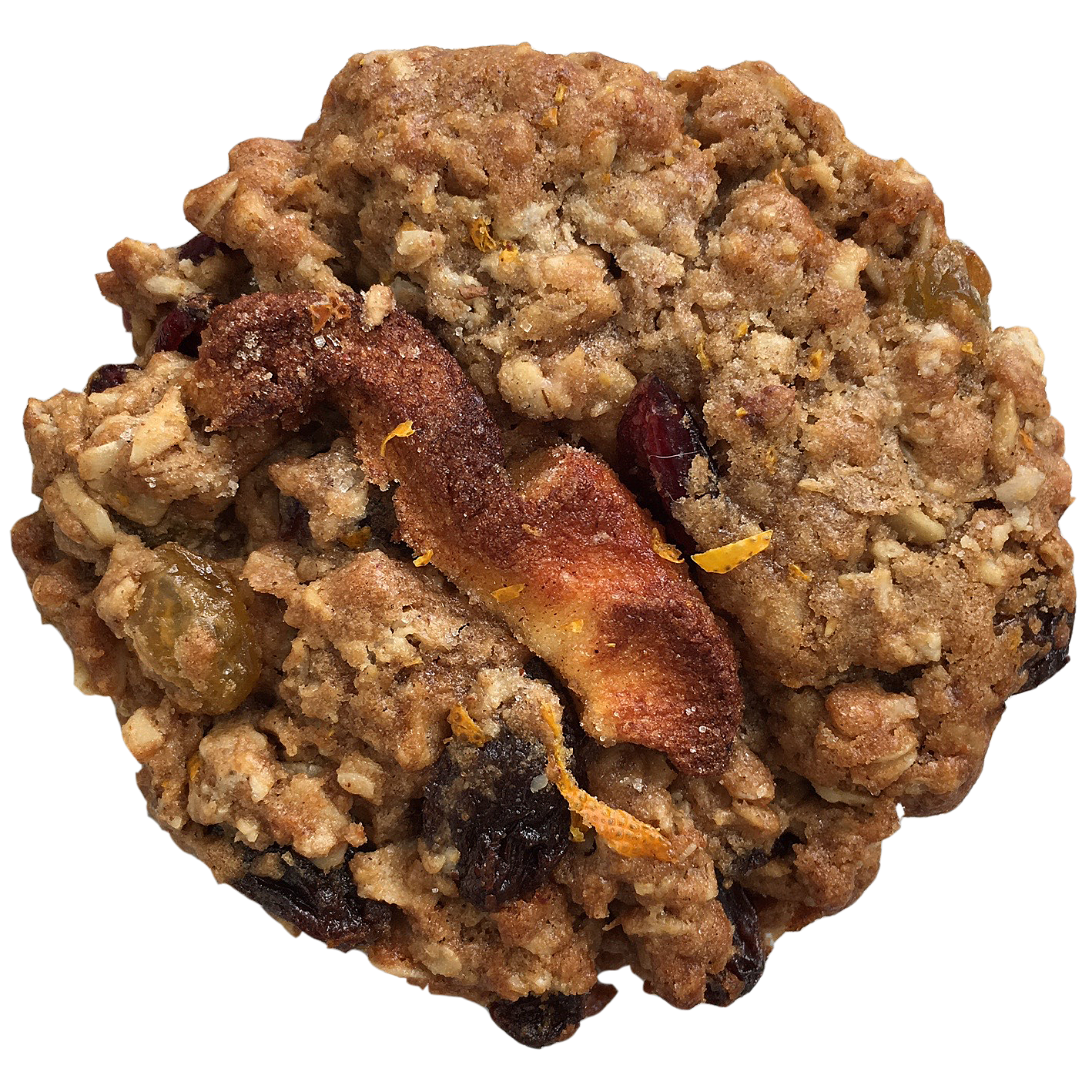 WHEN DORIS GETS HER OATS (phase one, dig it)  seasonal flavors : oats, carmelized apple, burnt orange & candied walnuts