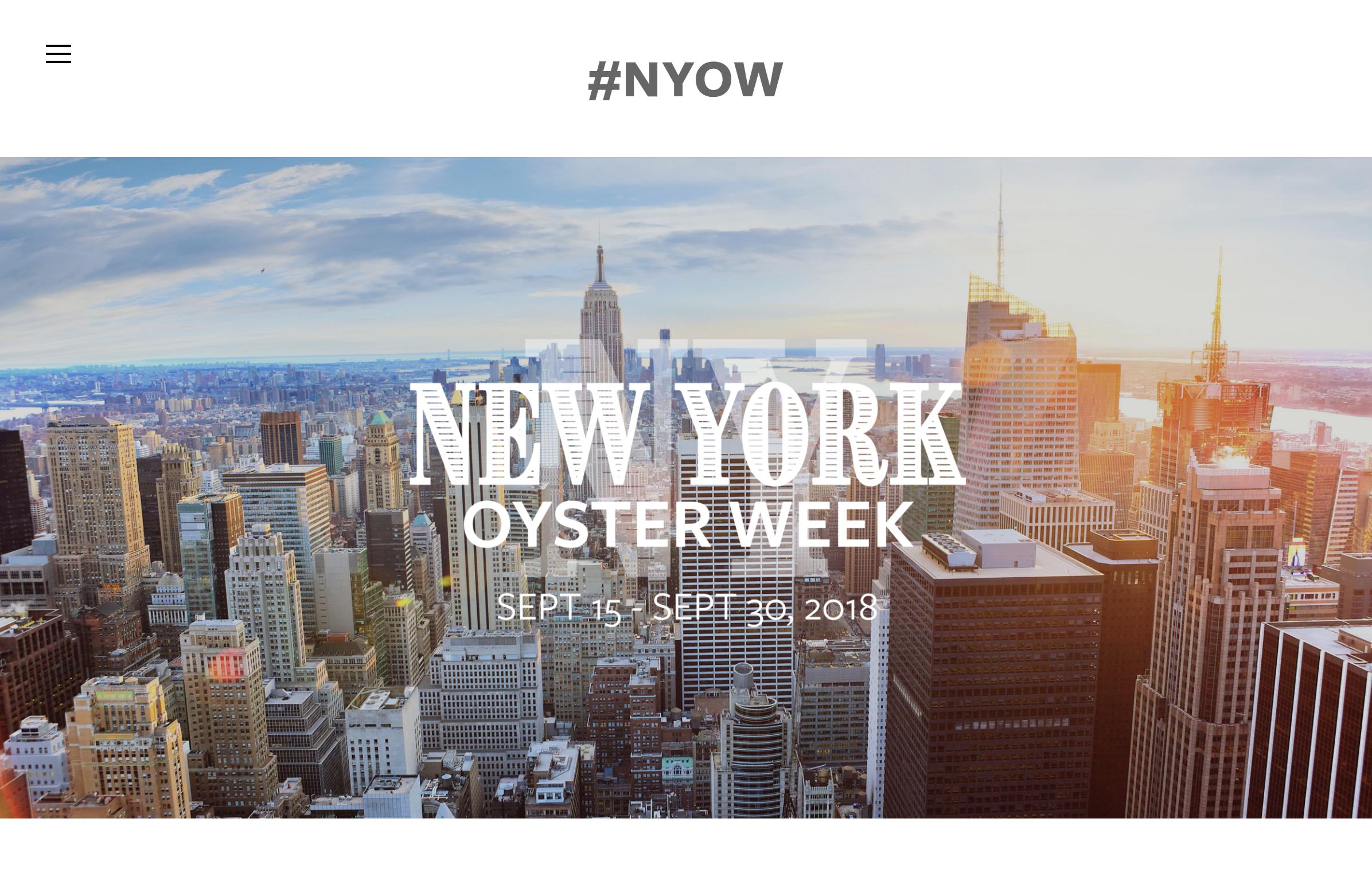 www.NewYorkOysterWeek.com