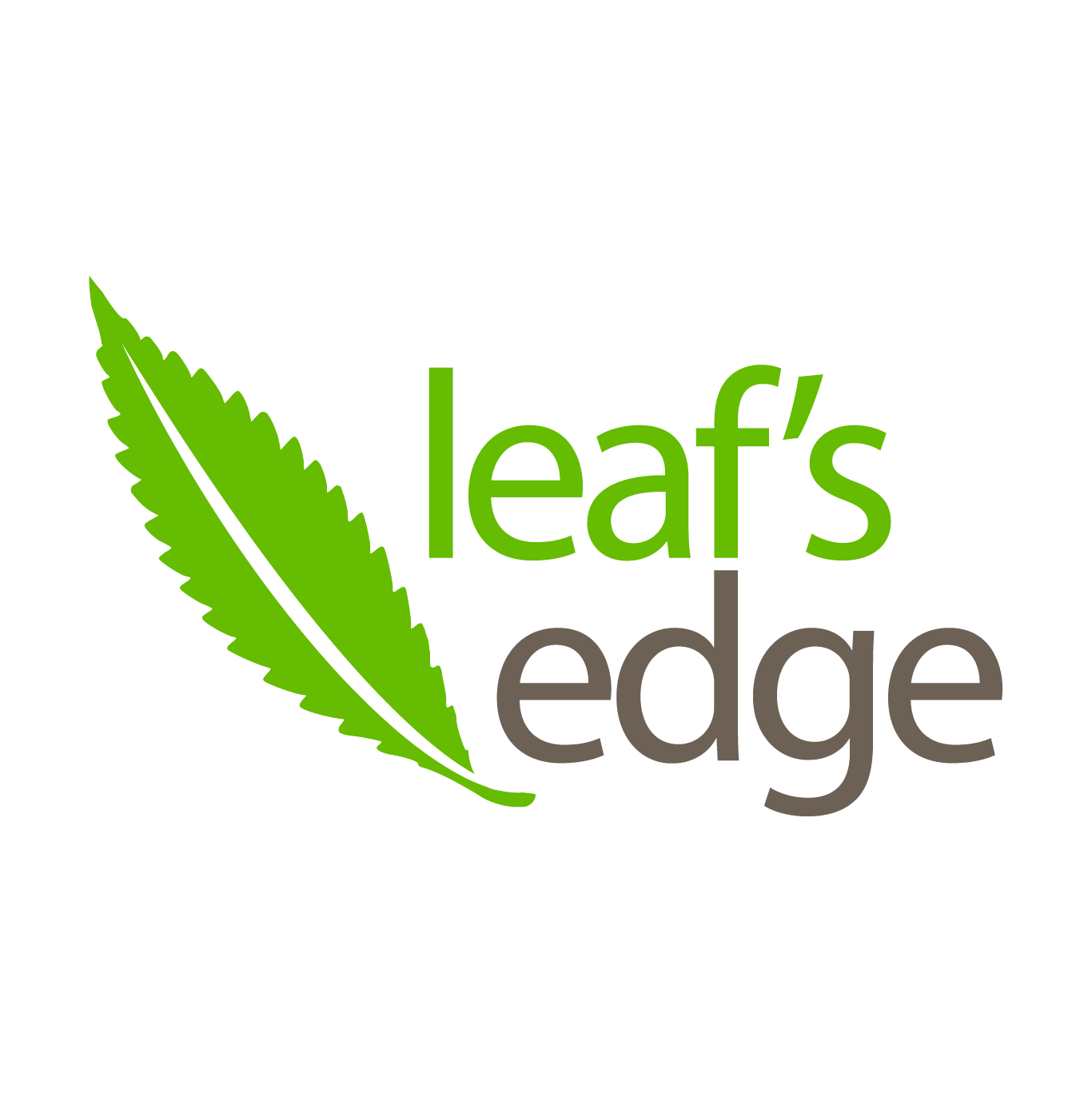 Leaf's Edge - Logo - by OTAKU MARKETING & WEB DESIGN ST. PETE, FL