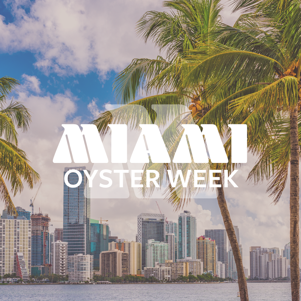 Miami Oyster Week - Logo - by OTAKU MARKETING & WEB DESIGN - ST. PETERSBURG, FL