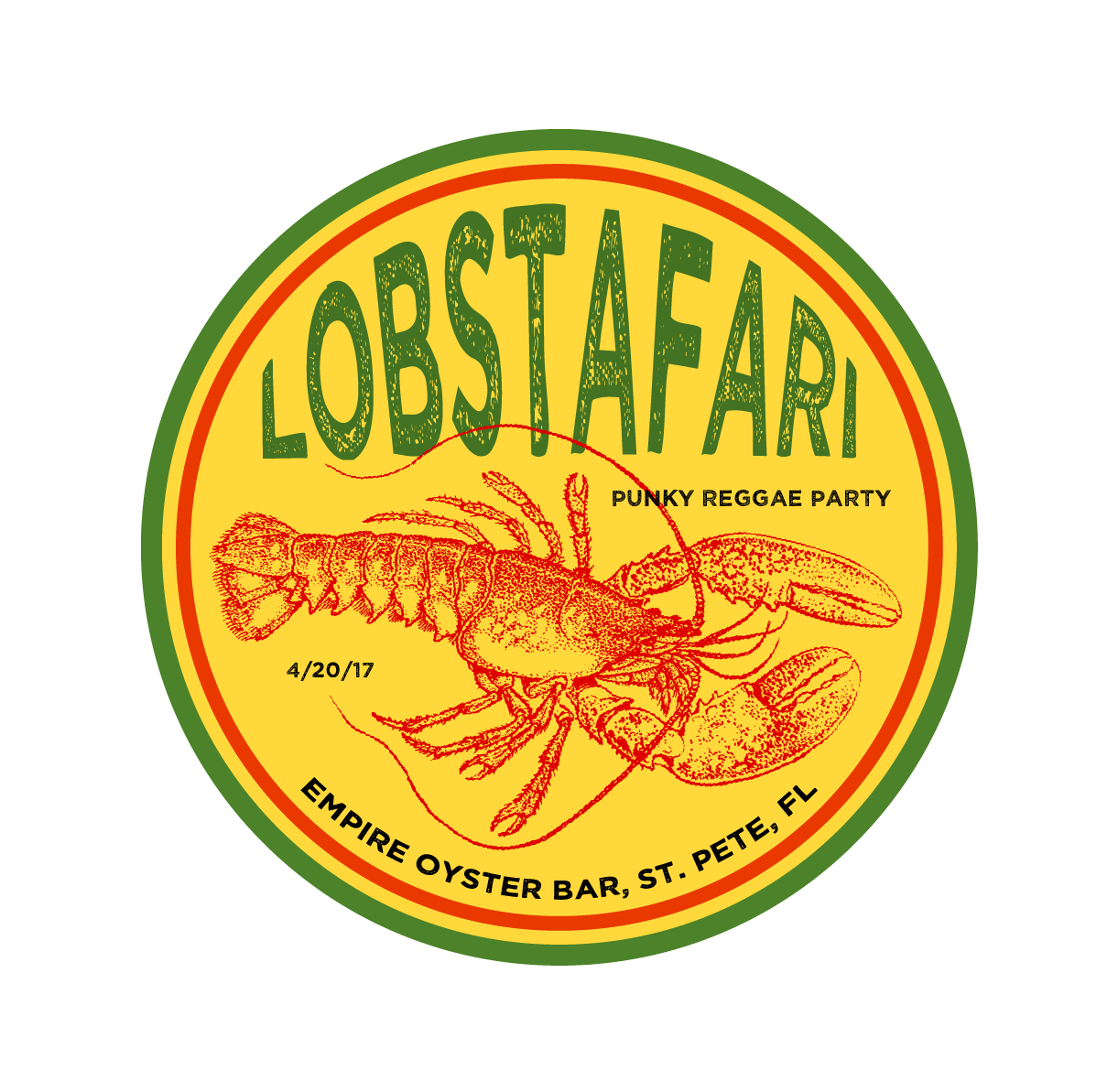 Lobstafari Event - Logo - by OTAKU MARKETING & WEB DESIGN - ST. PETERSBURG, FL