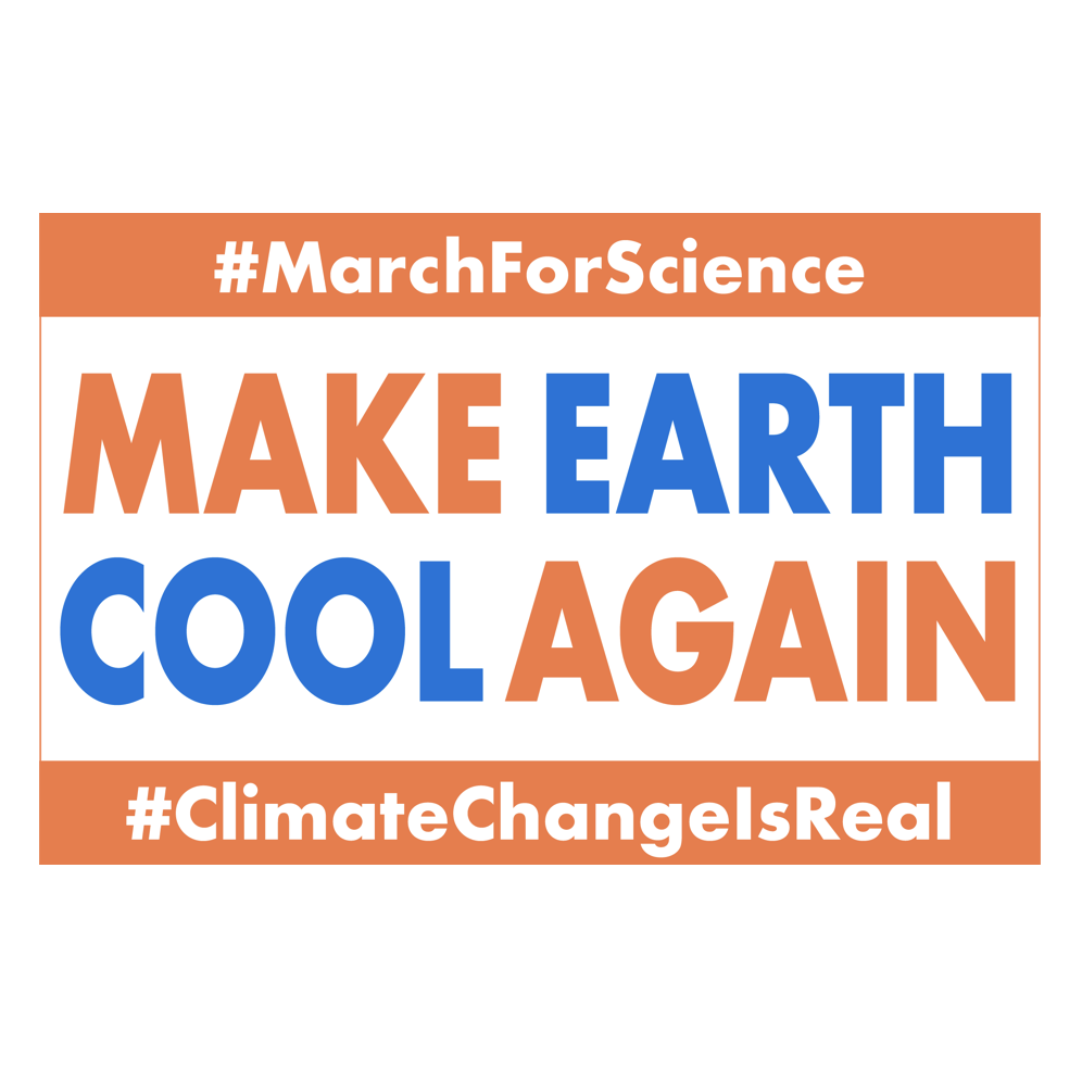 March for Science - Sign - by OTAKU MARKETING & WEB DESIGN - ST. PETERSBURG, FL