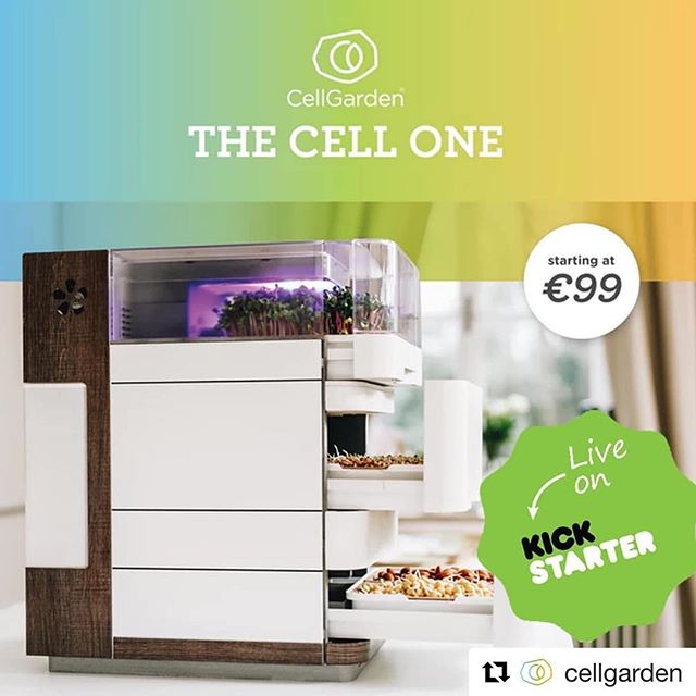 German engineering at its best! 👏🎉Repost @cellgarden: ・ ❗️ We are now live on Kickstarter ❗️ 🚀 🚀 🚀 . 🇺🇸 Get your Smart Garden NOW for over 60% off! Special prices are selling out fast! 🔥 . Grow your own fresh and local superfoods 🌱right at home with the most state-of-the-art  smart garden EVER! 😮😮😮 .  Follow the link in our bio!☝️ . Sichere dir jetzt den ultimativen Early Bird Deal – über 60 % Rabatt auf deinen Smart Garden! 😮😮😮 . Ziehe deine eigenen Superfoods mit dem Smart Garden 🌱 schnell und einfach zuhause. .