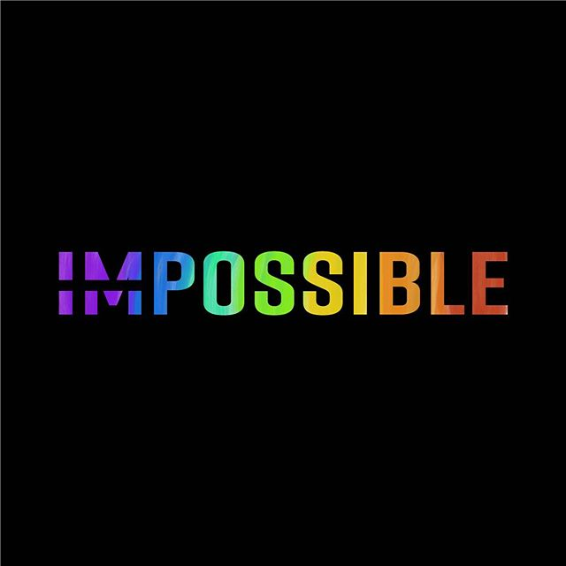 Happy Pride Month. 🏳️‍🌈 Remember, anything is possible with the right mindset! . I designed this new identity (this is my pride month version) for my clients and friends Heather and Roger from @impossible.pt. . They are the most passionate, knowledgeable and hard working personal trainers I've ever met. Their commitment to help you become the best version of yourself is incredible. 💪 And the best thing is, they recently opened their own gym in beautiful St. Petersburg, FL - and they're #dogfriendlyaf. 🤩🐶 Go check them out! . . . . . . . . #pride #loveislove #graphicdesign #logodesign #designer #logo #anythingispossible #impossible #inspiration #womeninbusiness #womenwhocode #personaltraining #stpete #stpetepride #dtsp #stpetebeach #florida #possible #power #strength #training #gym #tampa #tampabay