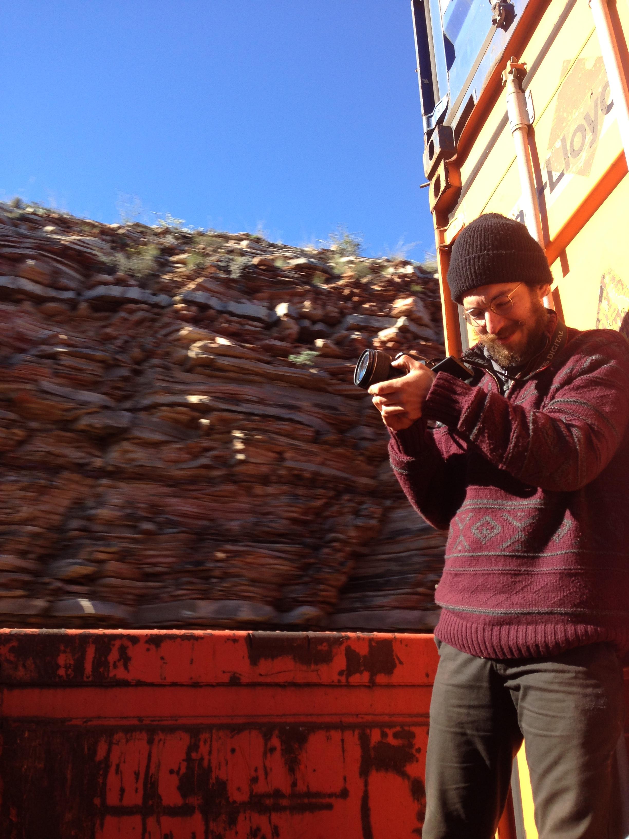 Dale Desert Train Film.JPG