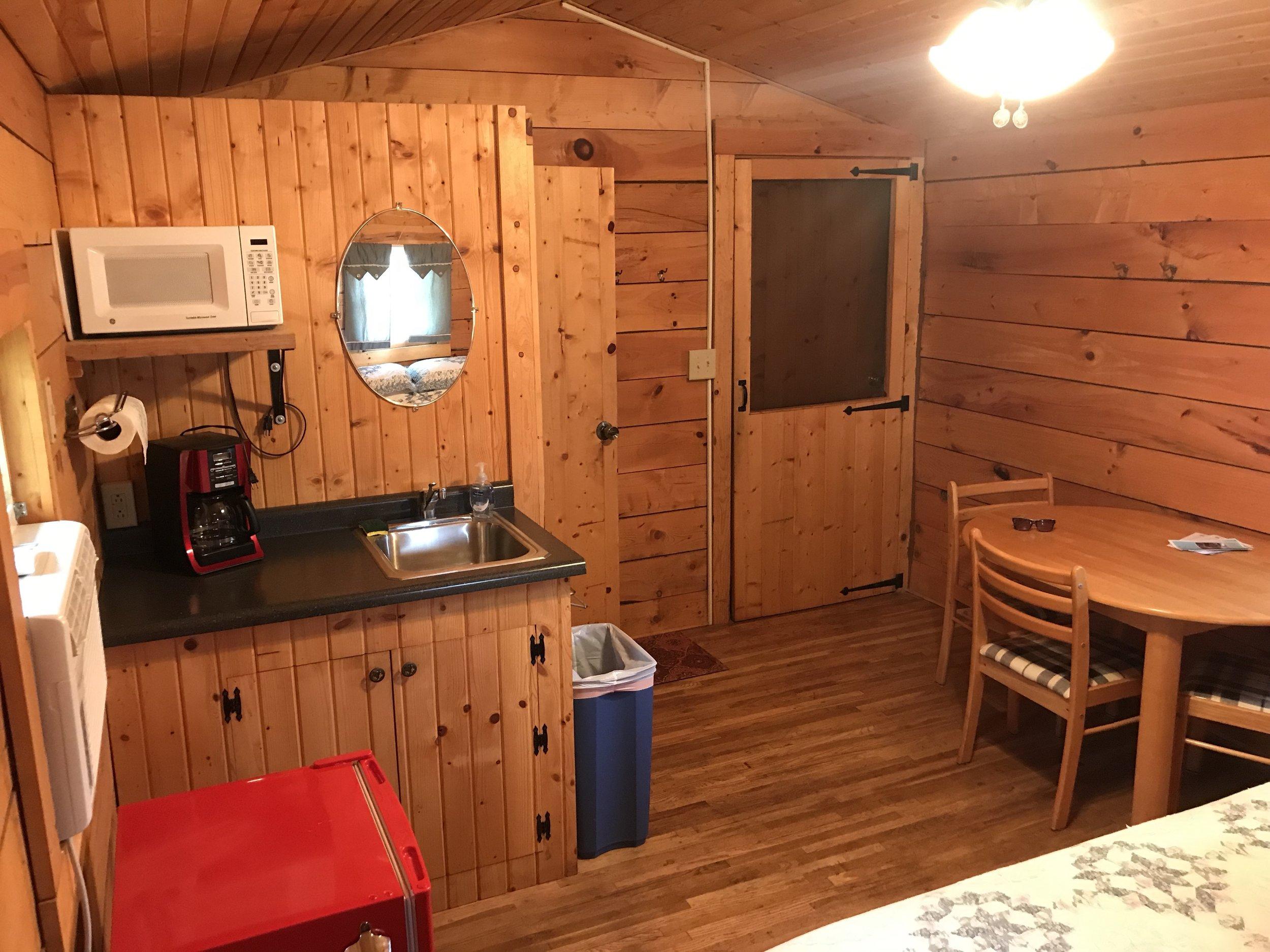 Amish Built Log Cabins Harvest Farm Campground Resort
