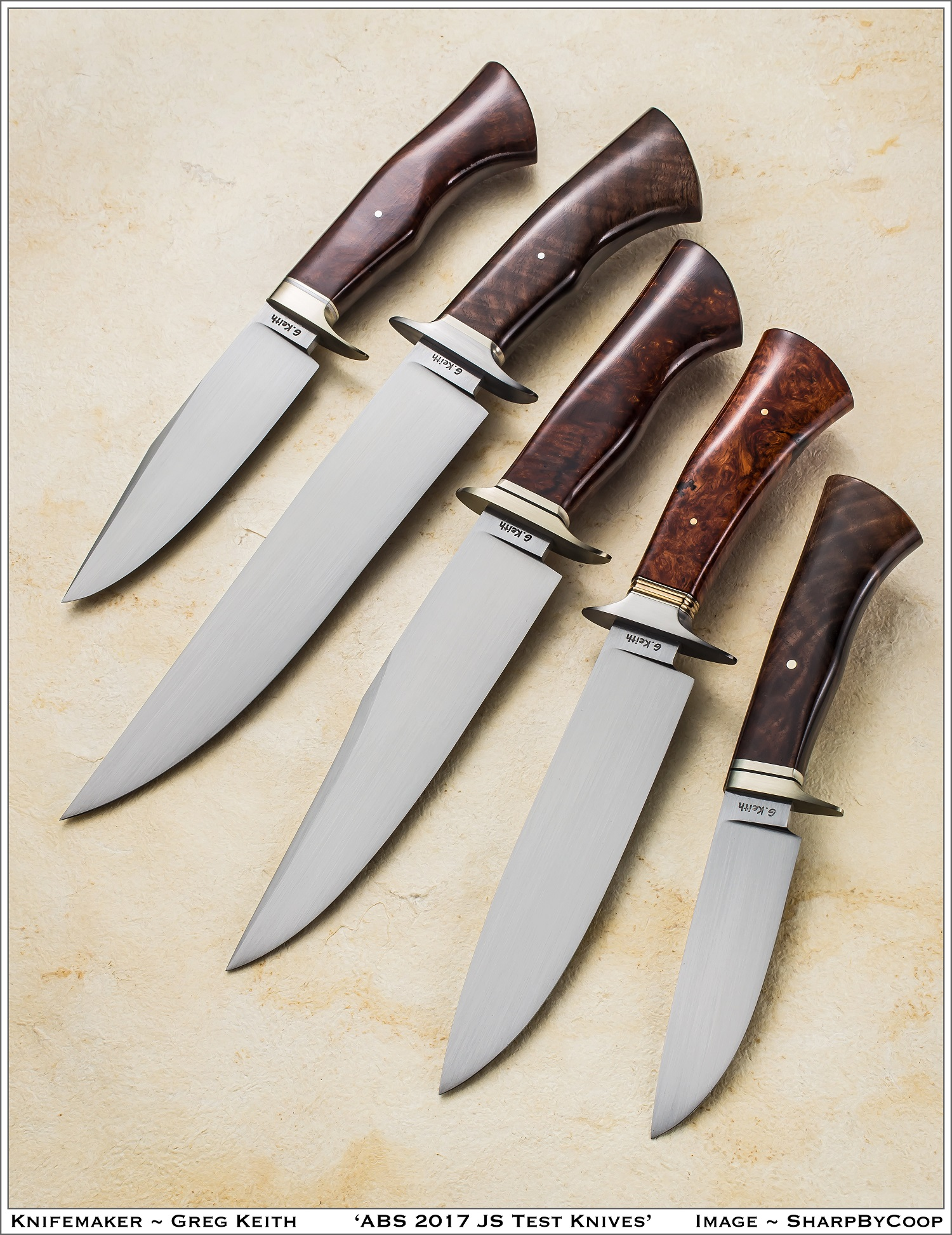 - My name is Greg Keith. I am a bladesmith from Nova Scotia, Canada. I am an accredited Journeyman Smith with the American Bladesmith Society. All of my knives are hand forged from high carbon steel. Please contact me to discuss your custom made knife.