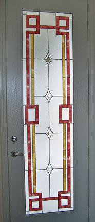 A Riverside home hosts this patio door insert