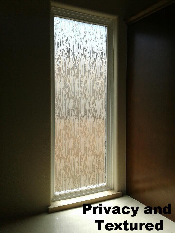 Tall Rain Glass Window