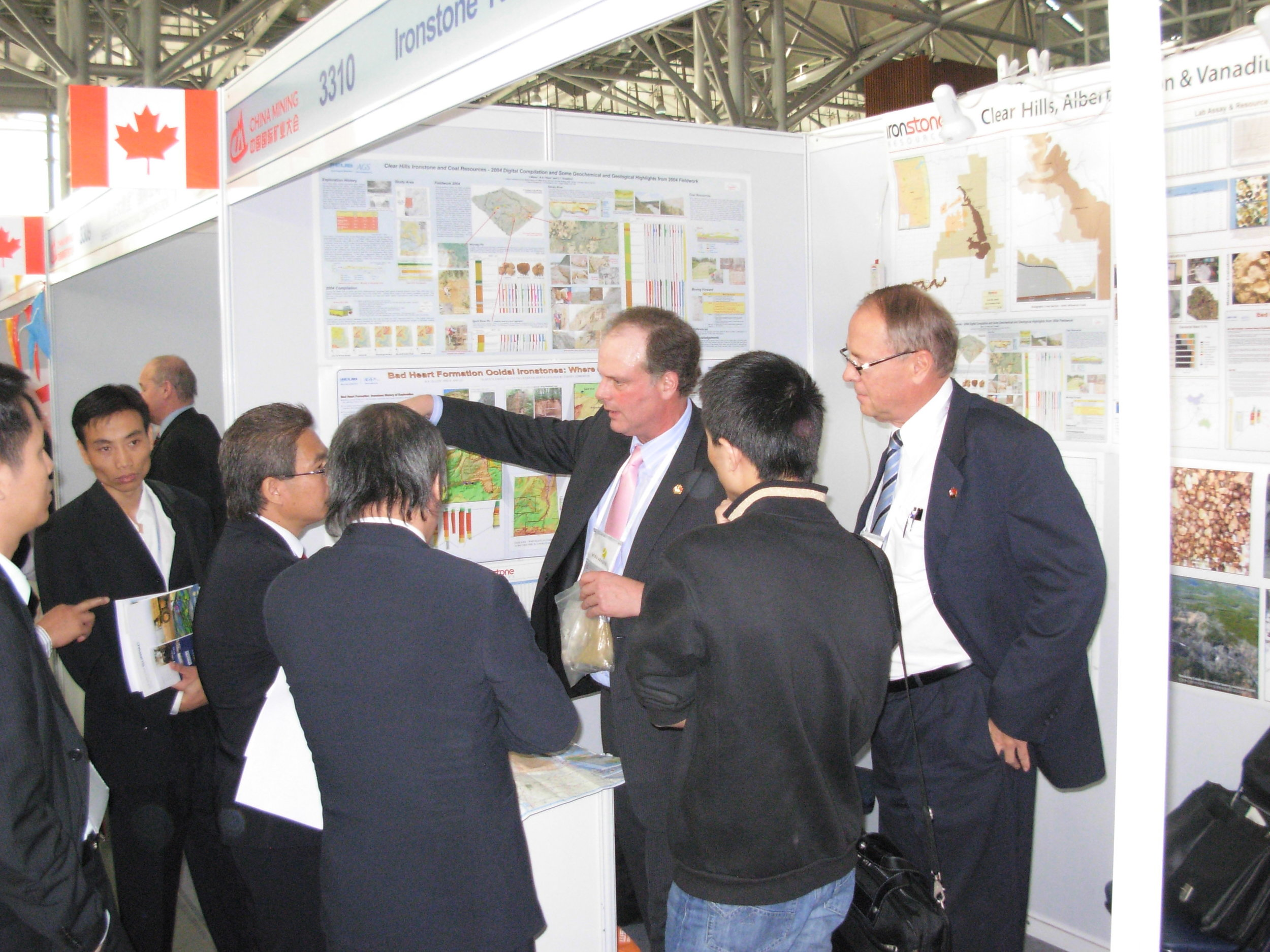 Exhibiting at China Mining Expo
