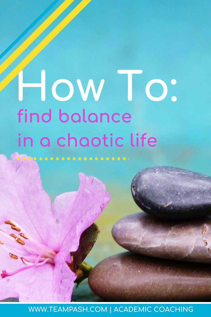 Parents and their children have super busy lives. As an academic coach, I help students fight through the overwhelm and find balance.  How do we find balance in our lives as parents? Let's look at ways to achieve balance in life, work, school and relationships - and I'm not just talking yoga.  Marni Pasch, Academic Coach,  Team Pasch Academic Coaching www.teampasch.com