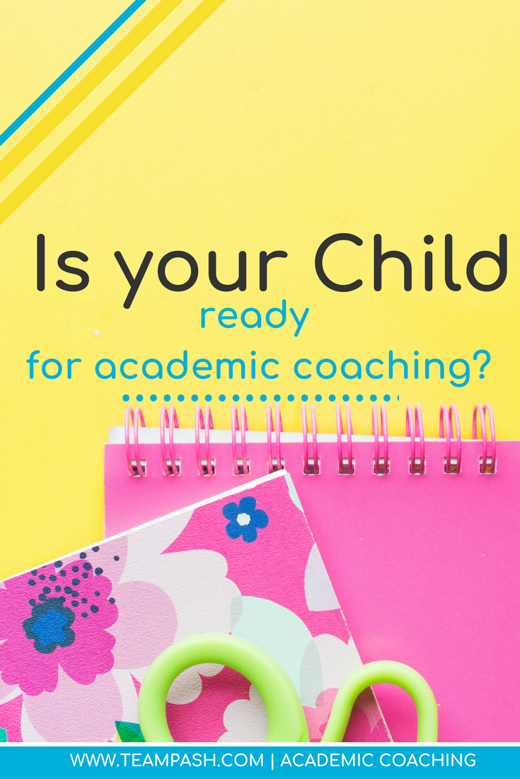 When does your child need more than a tutor? Has your child lost their passion for school? Maybe they never had an interest in school. That is where an academic coach might be your next step!  Marni Pasch Academic Coach Team Pasch Academic Coaching www.teampasch.com