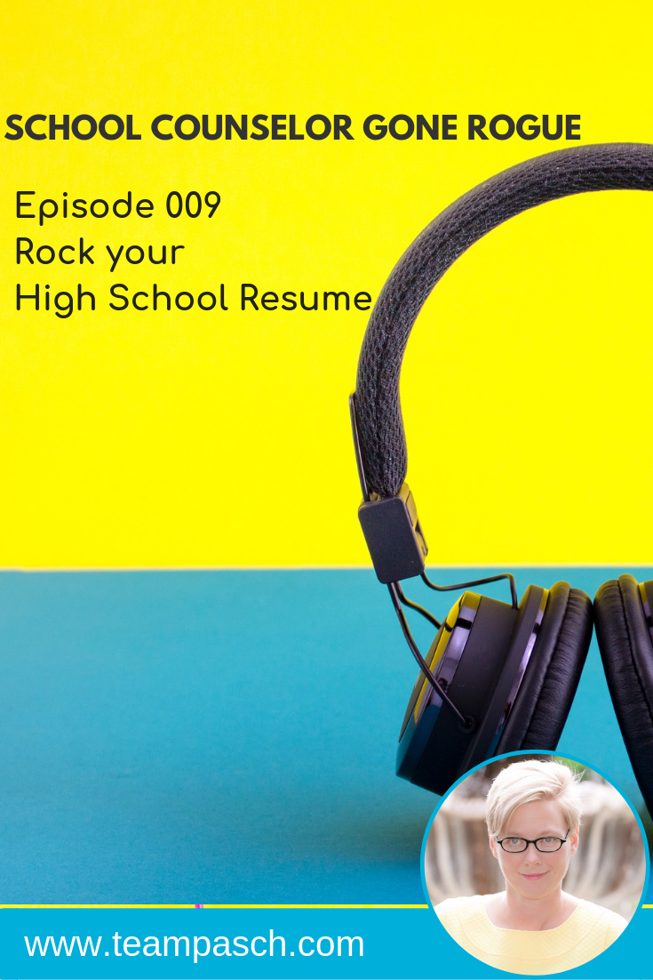 School Counselor Gone Rogue is a podcast by trained school counselor turned academic coach, Marni Pasch.  Join the conversation about all things struggling students, education, parenting and more.    #parenting #podcast  Marni Pasch Academic Coach Team Pasch Academic Coaching www.teampasch.com