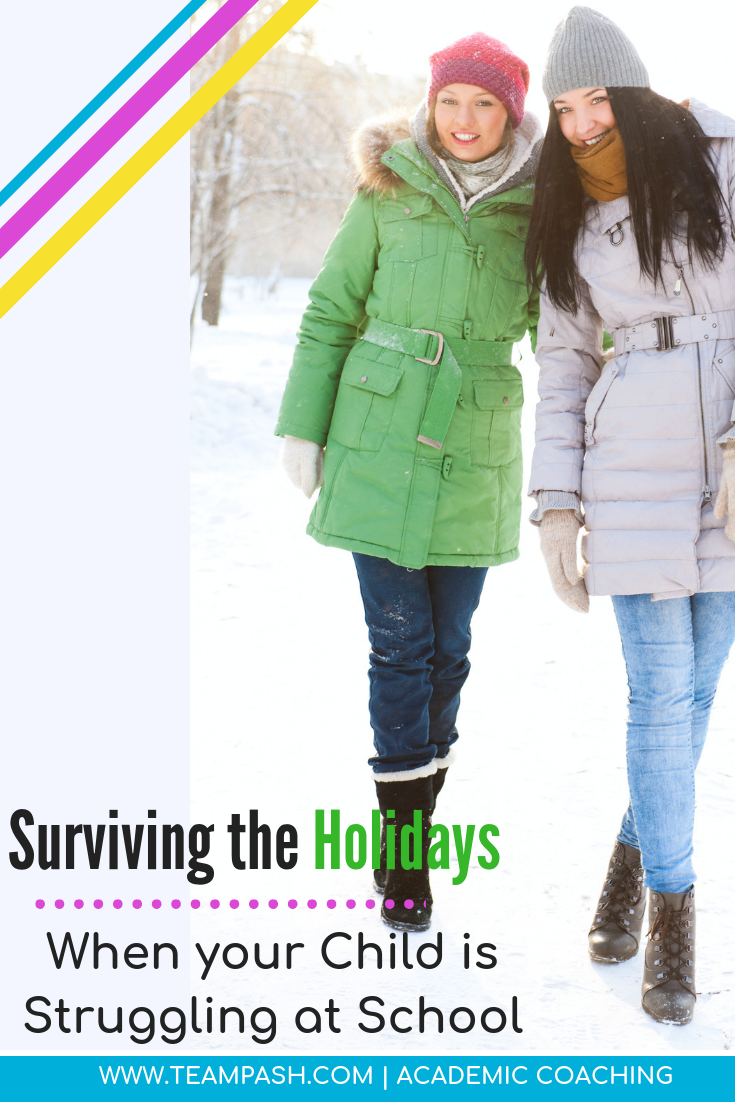 The holidays can be stressful for parents.To add to the stress, your teenager's school might have sent a progress report home to make your eyes bulge and heart race a little more.  How do you survive the stress of the holidays AND keep your relationship with your teenager in tact?    #parenting #teenagers #middleschool #highschoolstudent    Marni Pasch Academic Coach Team Pasch Academic Coach  Podcast School Counselor Gone Rogue   www.teampasch.com