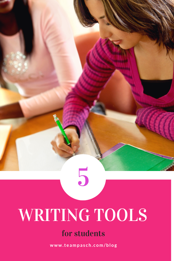 Students can struggle writing essays because they don't have the basic tools. Here are 5 awesome and free websites to help students gain confidence in their essay writing skills.  We look at writing strategies that help with thesis statements, grammar and citations!  #writinghacks #essayhelp #middleschool  Marni Pasch Team Pasch Academic Coaching www.teampasch.com