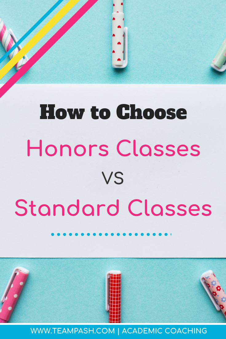 Is your child ready for honors classes? As you make your child's school schedule ask these questions to determine their ability to tackle honors or standard level courses.  School Counselor Gone Rogue is a podcast by trained school counselor turned academic coach, Marni Pasch.  Join the conversation about all things struggling students, education, parenting, ADHD, time management and more.    #parenting #podcast  Marni Pasch Academic Coach Team Pasch Academic Coaching www.teampasch.com