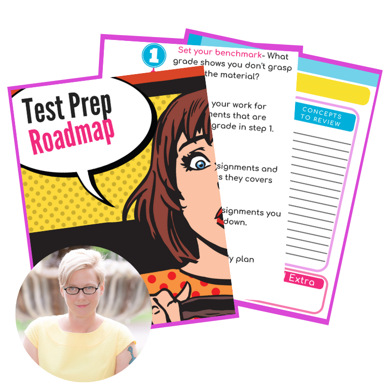 Have you grabbed the Test Prep Roadmap yet? A FREE resource to help your kiddo prepare for tests with less time and more success!  teampasch.com/testpreproadmap