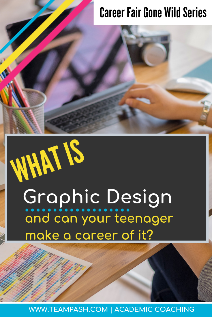 Is your child debating what career to pursue after high school? Does your school have a graphic design certification program? Learn about what graphic design is and how your child might prepare for a career in the graphic arts.   Marni Pasch -Academic Coach Team- Pasch Academic Coach  Podcast School Counselor Gone Rogue   www.teampasch.com