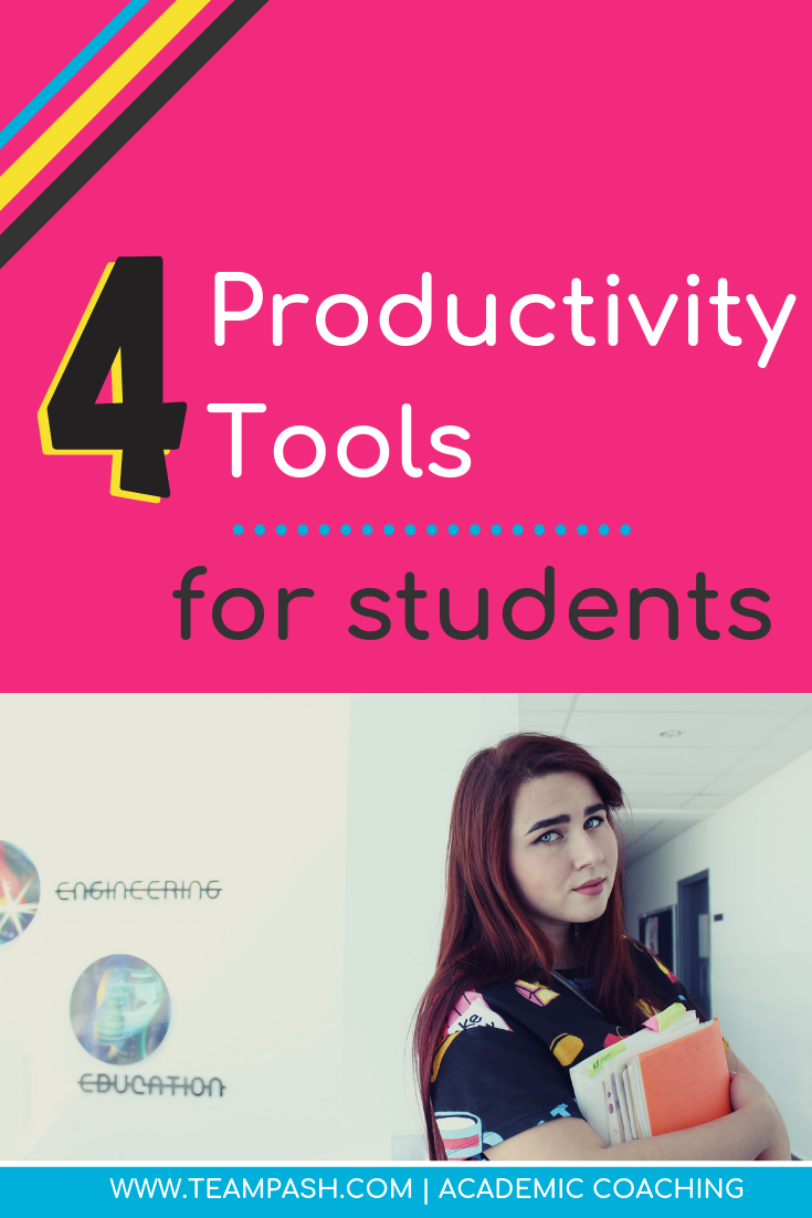 Get help for your child's time management skills. Here are a list of apps that can help students create a to do list and focus on work. Click now to find the best productivity apps!  Marni Pasch Team Pasch Academic Coaching www.teampasch.com