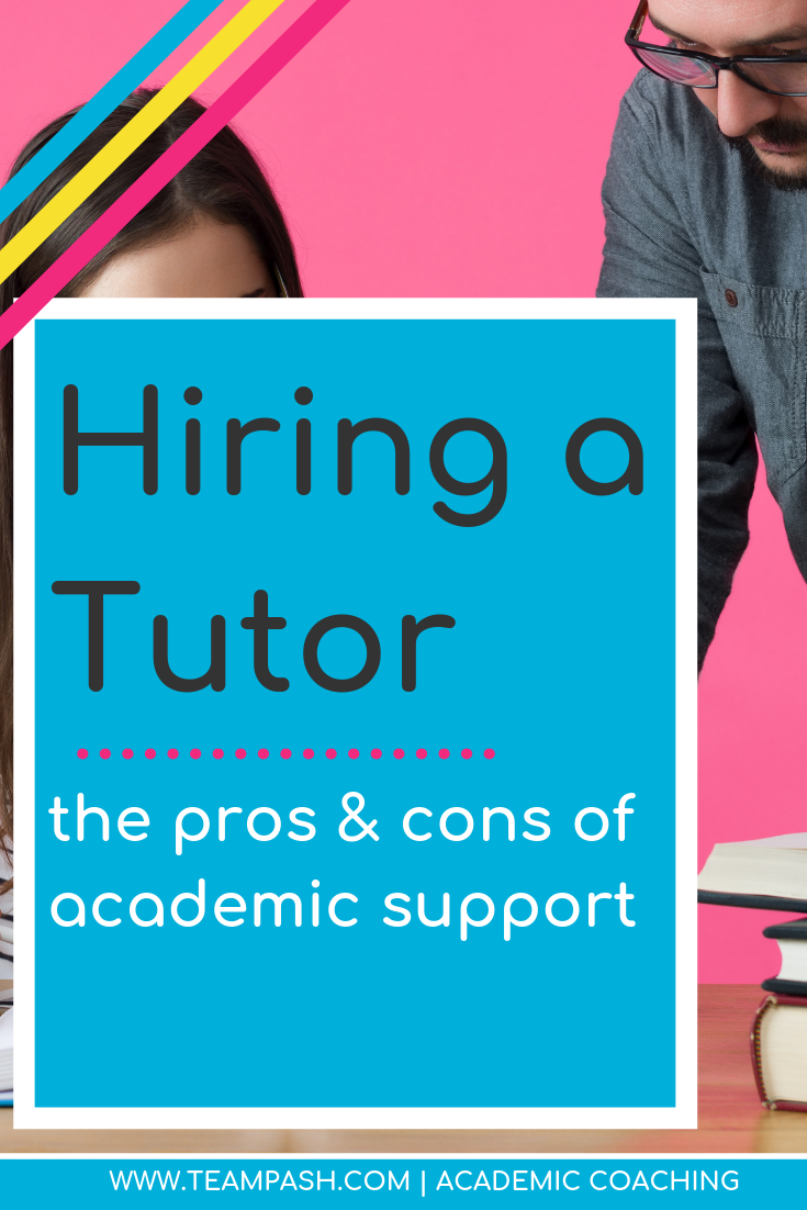 Do tutors provide an unfair advantage for students? Where can parents find support for struggling students at school?   We discuss the impacts of using academic support services such as tutors or SAT prep services and how to help your teen succeed at school.   Marni Pasch -Academic Coach Team- Pasch Academic Coach  Podcast School Counselor Gone Rogue   www.teampasch.com