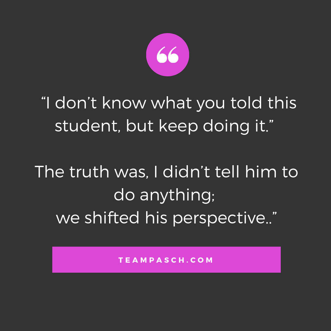 A coach doesn't tell clients what to do- they help guide and shift their perspective.  My families joke about my magic wand- but the credit is only deserved by my students who put their trust in the process and let the world see how awesome they are!  Check out this week's blog to learn more!