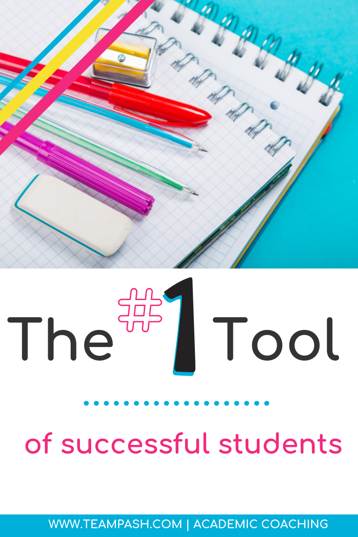 There is one tool that every great student needs. Getting good grades in middle school or high school isn't as hard as you might think! Click here to learn the one tool that leads to school year success.    Marni Pasch Team Pasch Academic Coaching www.teampasch.com