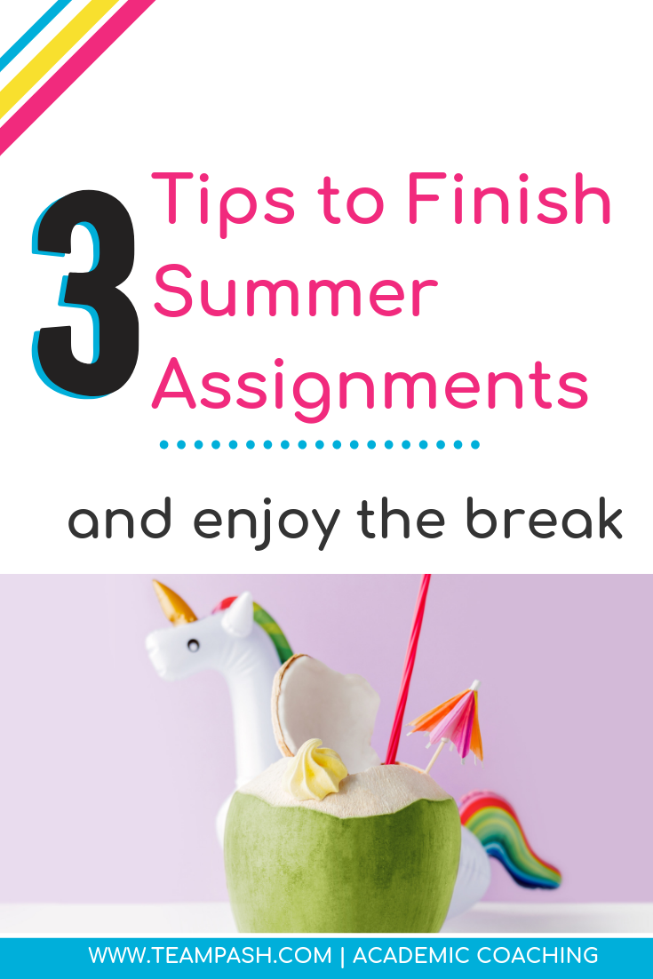 Middle School and High school students don't get breaks over the summer. Summer reading assignments are unavoidable. Click here for 3 steps to complete your summer assignments with less arguments!   www.teampasch.com   School Counselor Gone Rogue is a podcast by trained school counselor turned academic coach, Marni Pasch.  Join the conversation about all things struggling students, education, parenting, ADHD, time management and more.    #parenting #podcast  Marni Pasch Academic Coach Team Pasch Academic Coaching www.teampasch.com
