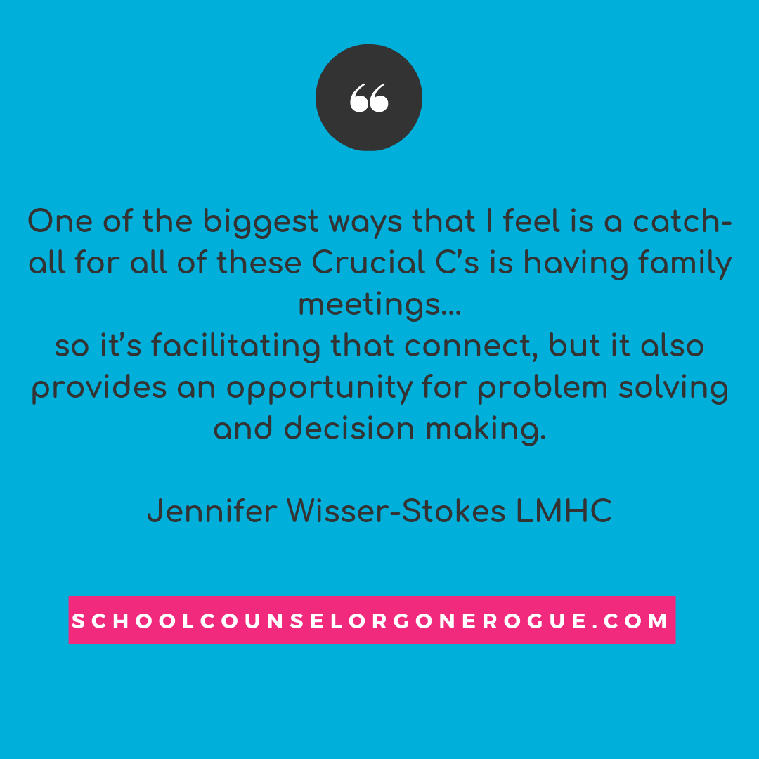 Jennifer Wisser-Stokes LNHC and Licensed play therapist, joined me this week to talk about what we can do as parents and educators to build confidence in students. Here is just one of her awesome points!   Check out School Counselor Gone Rogue on Itunes,Stitcher or Google Play or check out the website and show notes!