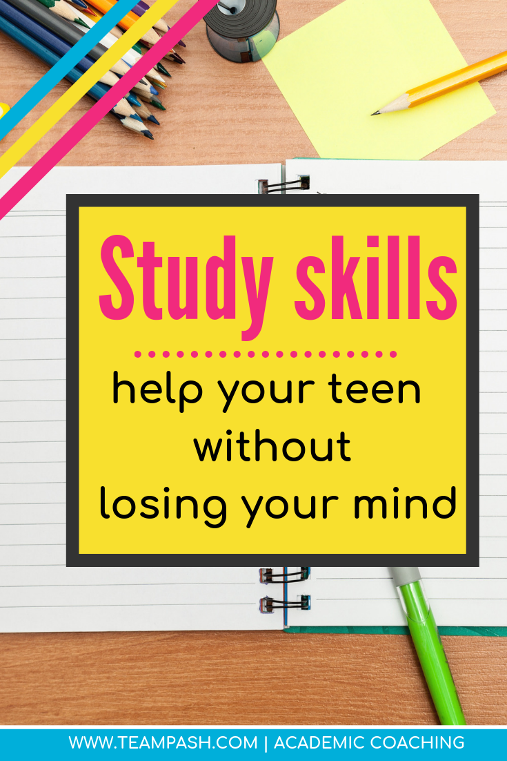 What study skills do middle school and high school students need? A better question is WHO should teach tweens and teenagers study skills! Read here to learn if you are the best match to help your child build their study skills.  Click here for this week's episode of School Counselor Gone Rogue and easy tips to thrive in high school.   Marni Pasch -Academic Coach Team- Pasch Academic Coach  Podcast School Counselor Gone Rogue   www.teampasch.com