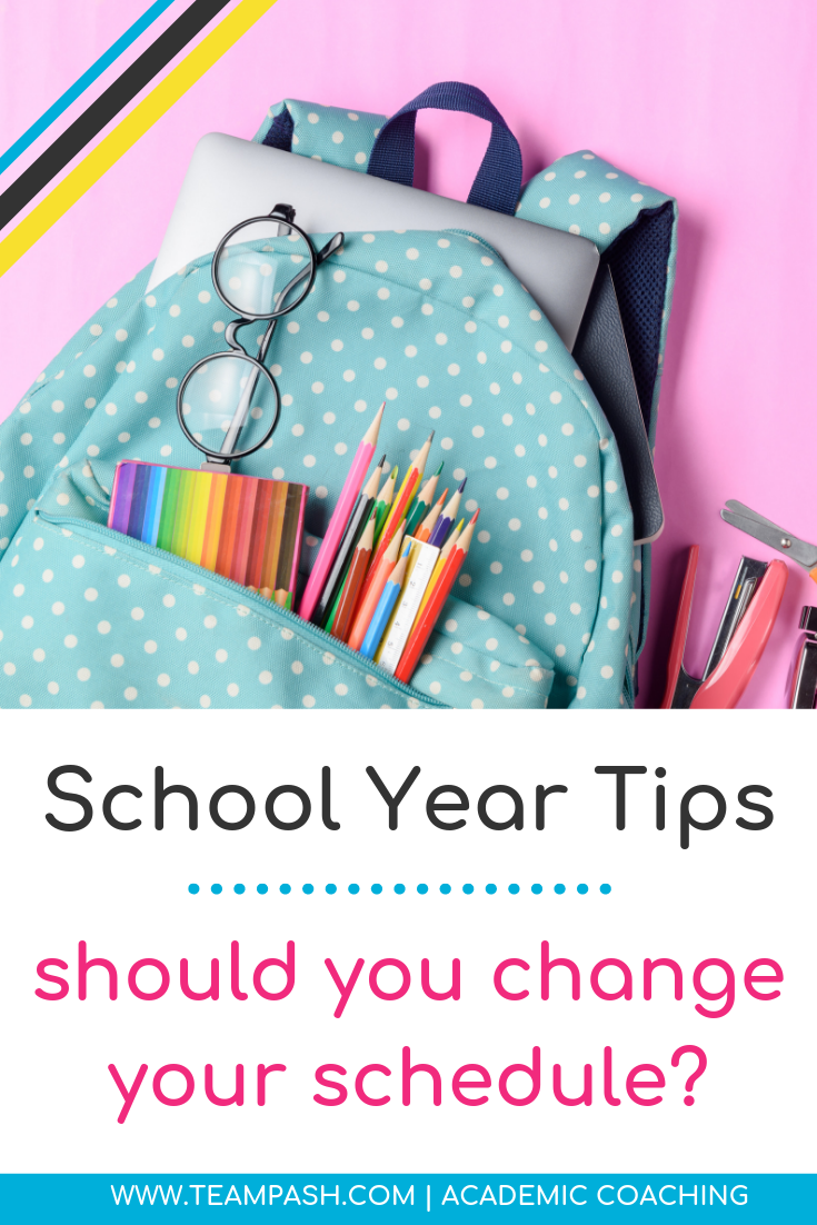 Ready to stay sane when you are handling schedule changes at school? Let's chat about how to handle schedule changes for middle school and high school students. Before you change your class schedule make sure it is worth it!    Click here for this week's episode of School Counselor Gone Rogue and easy tips to thrive in high school.   Marni Pasch - Academic Coach Team - Pasch Academic Coach  Podcast School Counselor Gone Rogue   www.teampasch.com